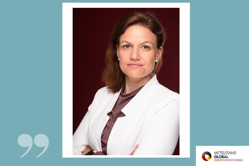 Juliane Hinsch, Geschäftsführerin des Deutschen Industrieverbandes Concentrated Solar Power