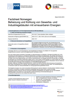 Technologie-Factsheet Norwegen