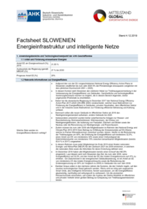 Technologie-Factsheet Slowenien