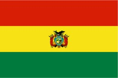 Nationalflagge Bolivien