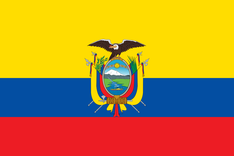 Nationalflagge Ecuador