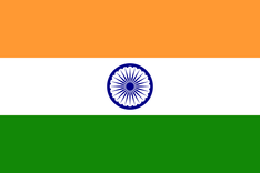 Nationalflagge Indien