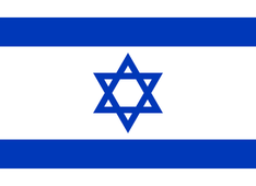 Nationalflagge Israel