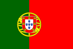 Nationalflagge Portugal