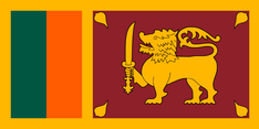 Nationalflagge Sri Lanka