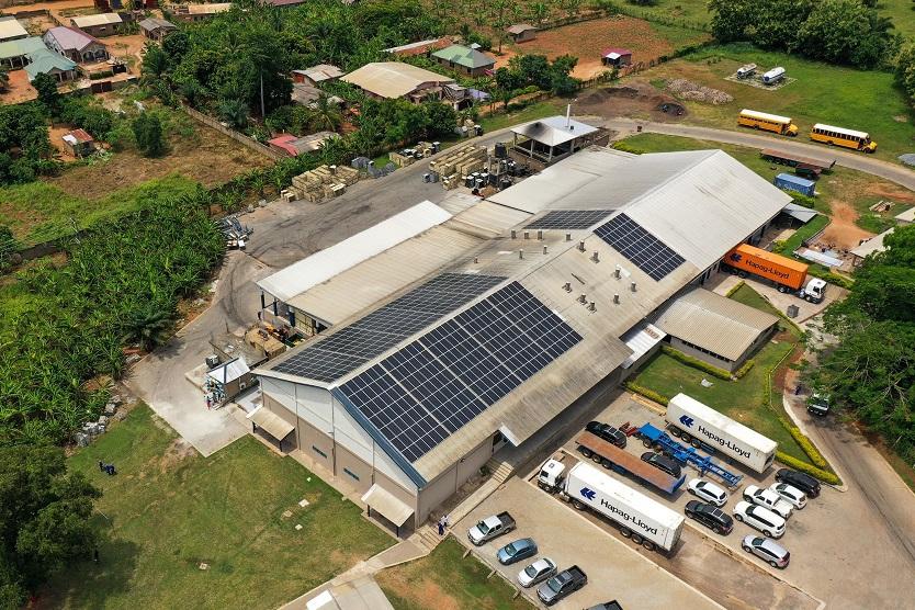 170 kWp PV-Anlage für Bomarts Farms