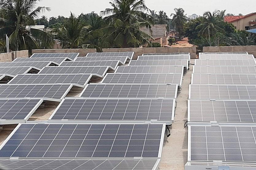 Die Anlage wird sowohl zur Stromerzeugung als auch für Schulungen der GREEN Academy eingesetzt werden