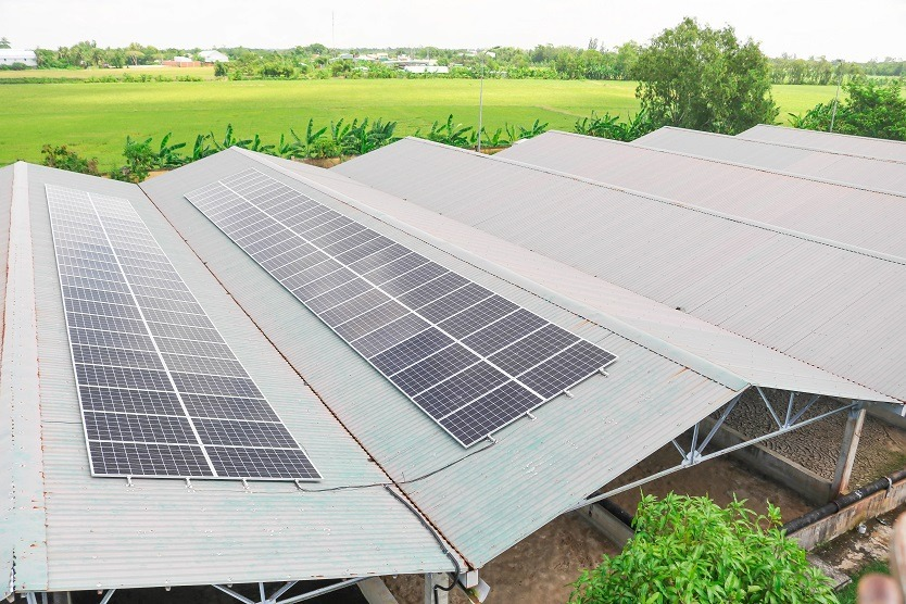 Soc Trang - where Solar energy meets water treatment facilities