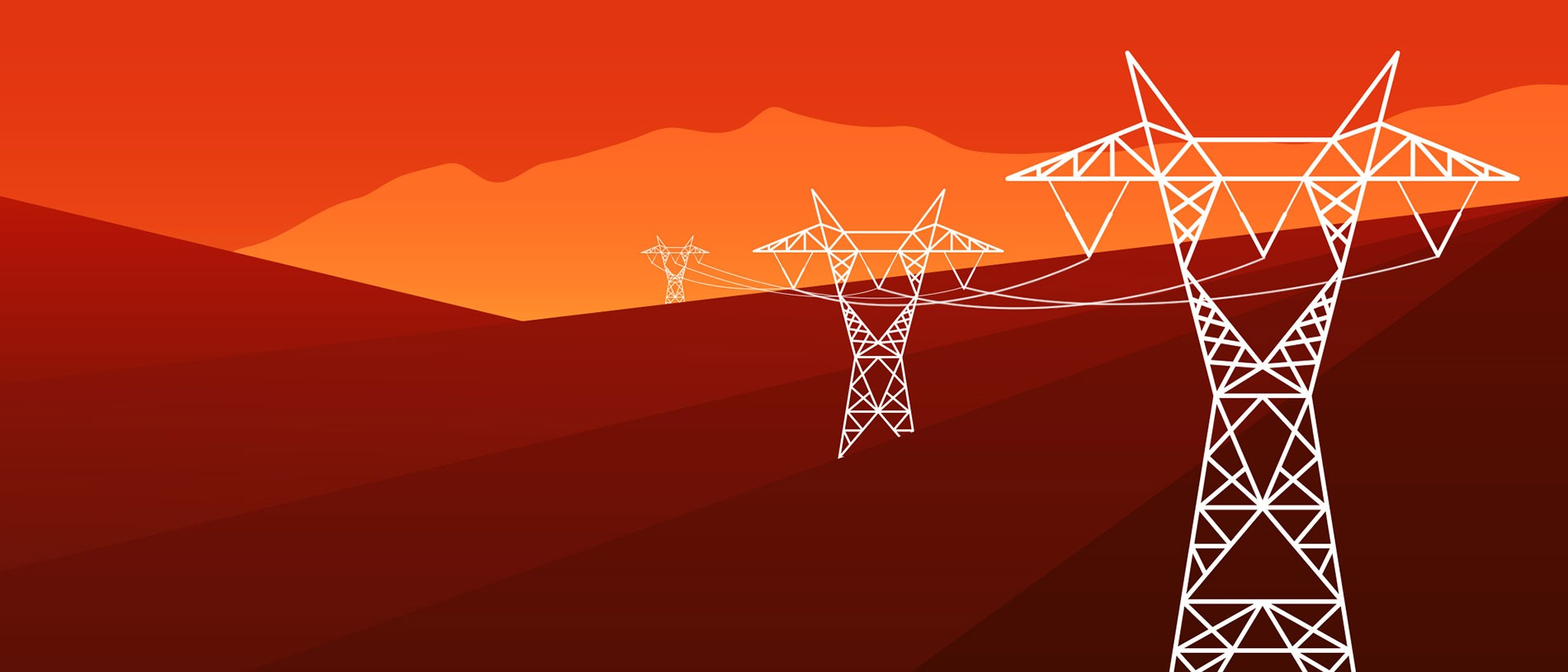 Illustration energy infrastructure