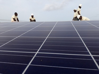 Photovoltaics in Ghana with innovative German financing