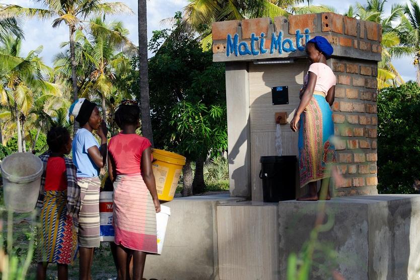 "Solar wells ""Mati Mati"" in Mosambik, South East Africa"