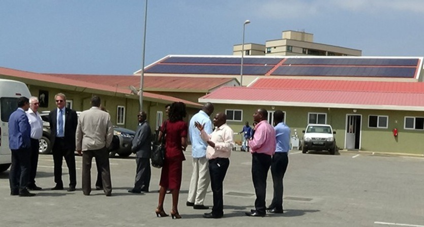 The grid-connected PV system at Luanda International School was officially opened on 10 December 2014.