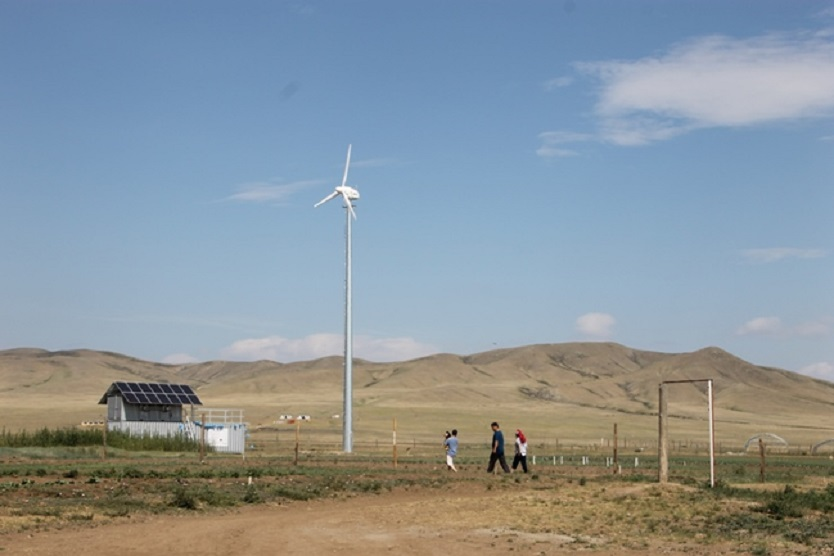 dena RES Project in Mongolia