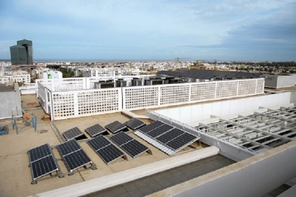 PV rooftop installation