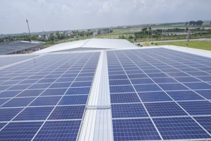 PV System was completed on the roof of Swire Cold Storage in Bac Ninh province