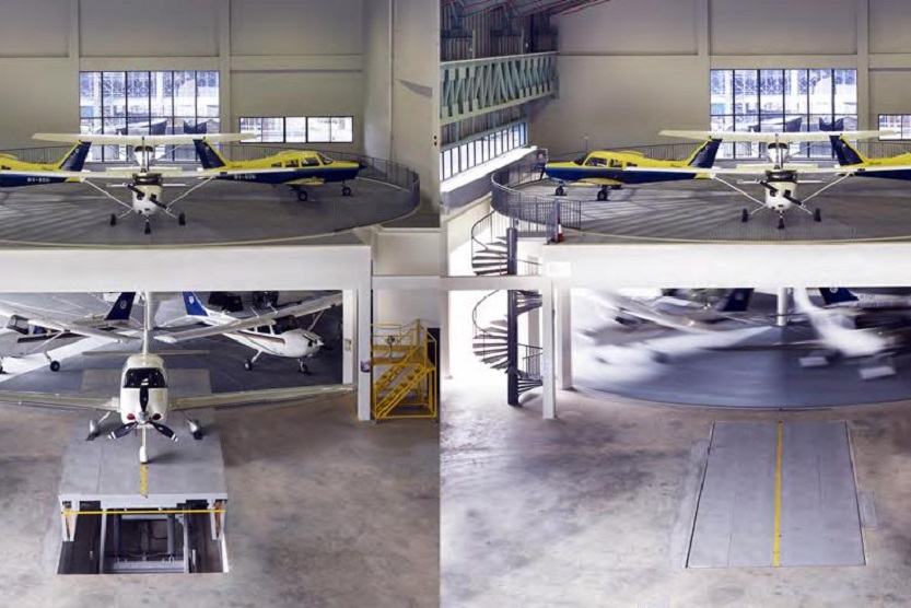 Schätz Design & Construction GmbH with Schätz Vertical – MAJ General Aviation Center, Seletar Airport Singapore
