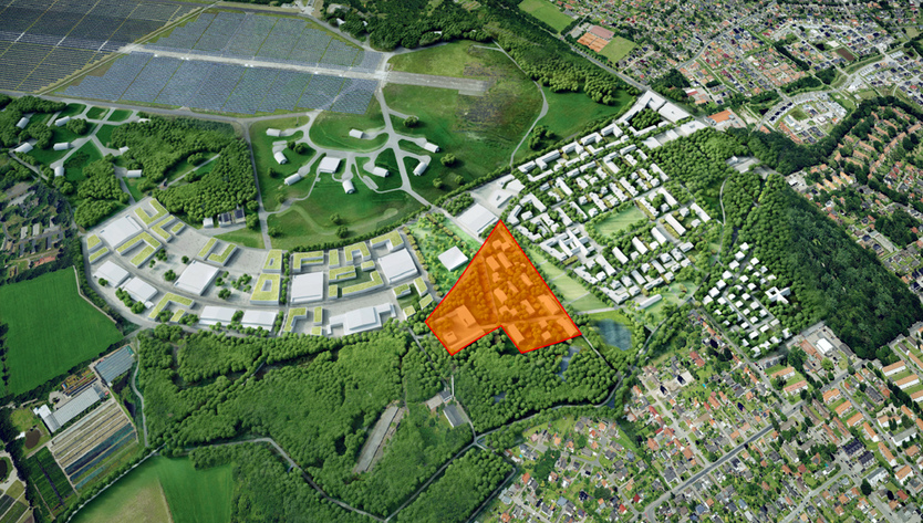 map of the smart city living lab oldenburg