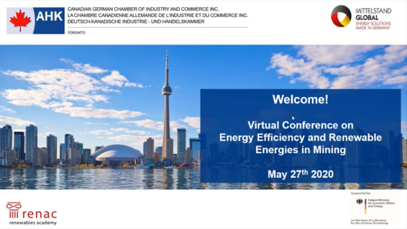 Web Conference on Energy Efficiency in Mining